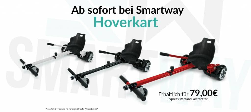 Hoverkart für Hoverboards Smartway